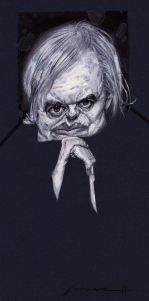 H.R. Giger, by Marvin Lorenz