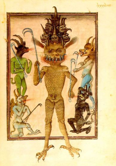 Lucifer 15th century French